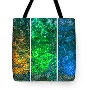 Collage Liquid Rainbow 4 - Featured 3 Tote Bag