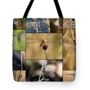 Collage Marsh Life Tote Bag