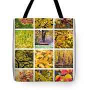 Collage October - Featured 3 Tote Bag