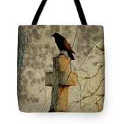 Collage Of Crow Tote Bag