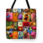 Collage Of Happiness  Tote Bag