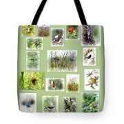 Collage Of Migration Shots-  5 Tote Bag