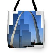 Collage Of St Louis Arch Tote Bag