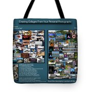 Collage Photography Services Tote Bag
