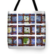 Collage The Theory Of Black Holes Tote Bag