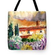 Colle D Val D Elsa In Italy 03 Tote Bag