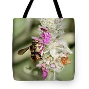 Collecting Nectar Tote Bag