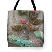 Collecting Old Trees Tote Bag