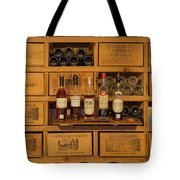 Collection Of Wines And Armagnac Tote Bag