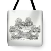 College Of William And Mary Tote Bag