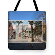 College Street To Market Square In Providence Ri Tote Bag
