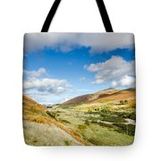 College Valley Tote Bag