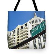 Collins Avenue Tote Bag