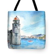 Collioure Tower Tote Bag