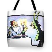 Collodi: Pinocchio/gepetto Tote Bag