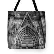 Cologne Cathedral 11 Bw Tote Bag