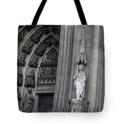 Cologne Cathedral South Side Detail 1 Tote Bag
