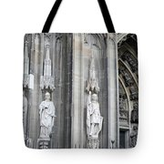 Cologne Cathedral South Side Detail 2 Tote Bag