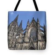 Cologne Cathedral South Side Rooflines Tote Bag