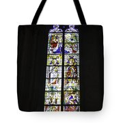 Cologne Cathedral Stained Glass Window Coronation Of The Virgin Tote Bag