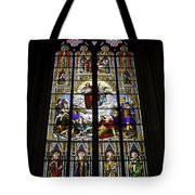 Cologne Cathedral Stained Glass Window Of St Paul Tote Bag
