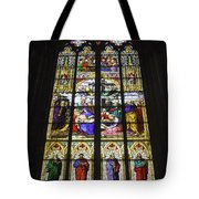 Cologne Cathedral Stained Glass Window Of The Lamentation Tote Bag