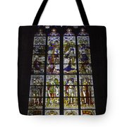 Cologne Cathedral Stained Glass Window Of The Nativity Tote Bag