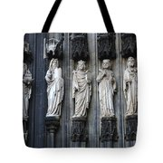 Cologne Cathedral Statuary Tote Bag