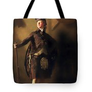 Colonel Macdonnel Of Glengarry Tote Bag