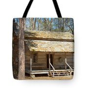 Colonial Cabin Tote Bag