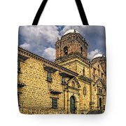 Colonial Church Tote Bag