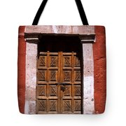 Colonial Door Arequipa Peru Tote Bag