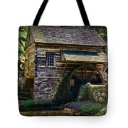 Colonial Grist Mill Tote Bag