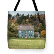 Colonial Home Tote Bag