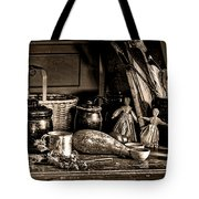 Colonial Table Set Tote Bag