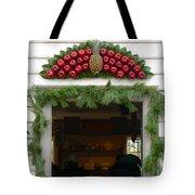 Colonial Williamsburg Yuletide Decorations Tote Bag
