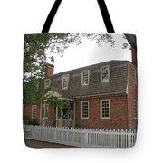 Colonial Williamsburg Scene Tote Bag