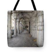 Colonnaden In Hamburg Germany Tote Bag