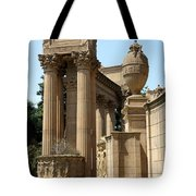 Colonnades Palaces Of Fine Arts Tote Bag
