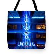 Colony Hotel 2 Tote Bag