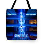 Colony Hotel 2 Tote Bag