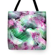 Color Abstract Red-green Tote Bag
