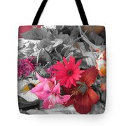 Color Accents Tote Bag