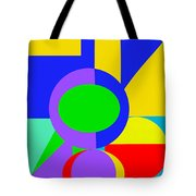 Color And Shape Series #1 Tote Bag