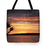 Color At Last Light Tote Bag
