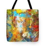 Color Burst #1 Tote Bag