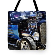Color Chrome 1932 Black Ford Coupe Tote Bag