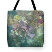 Color Corals Tote Bag by Adam Jewell