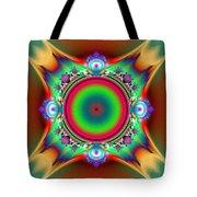 Color Cross Tote Bag