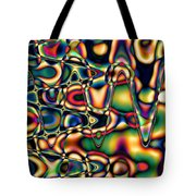 Color Cycles Tote Bag